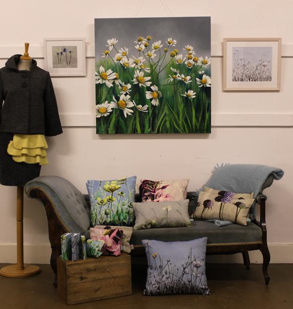 Scottish artist Kirsty Lorenz and designer maker Ruth Morris of Roobedo discuss their collaboration