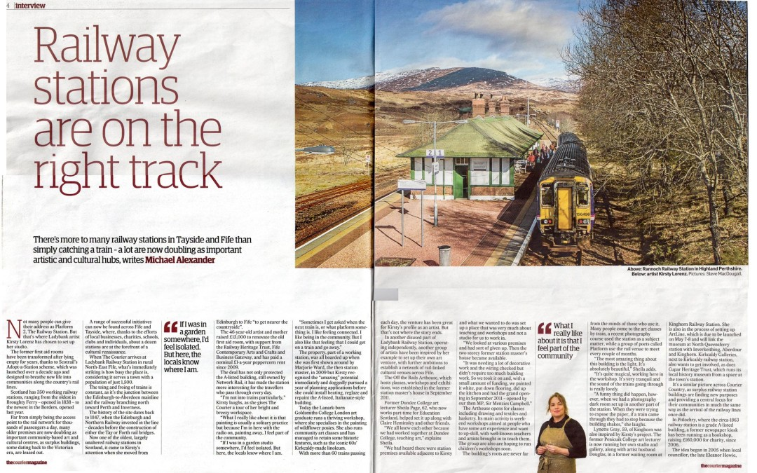 Feature – The Courier Weekend Magazine
